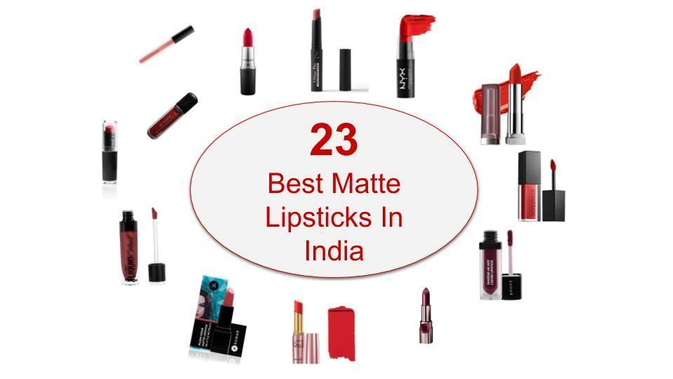 23 Best Matte Lipsticks In India