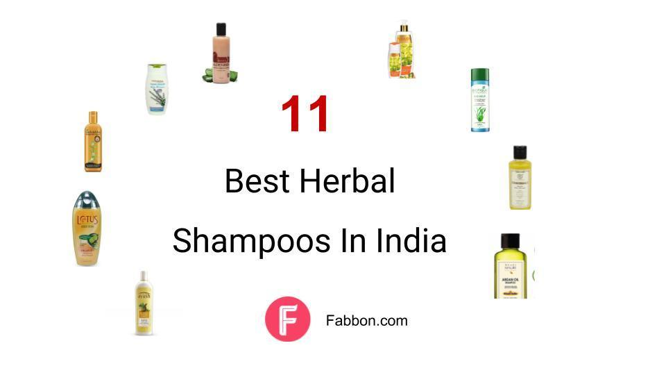 11 Best Herbal Shampoos Available In India for 2019 | Fabbon