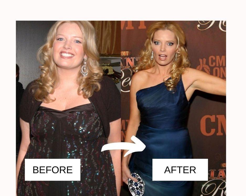 Melissa peterman weight loss