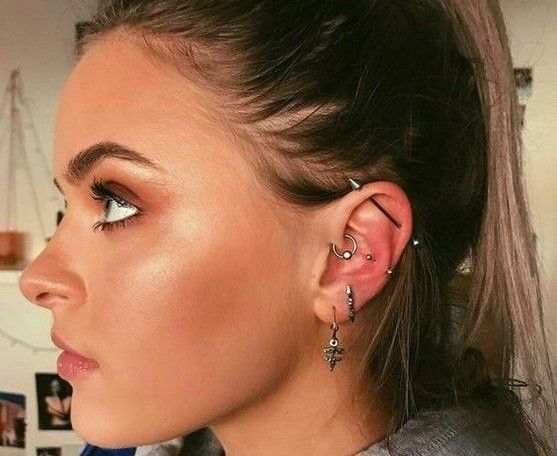 15 Types Of Ear Piercings Your Ultimate Guide For 2020