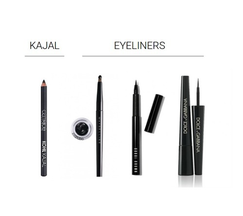 What's the difference between Kajal And Eyeliner: Kajal Vs Eyeliner