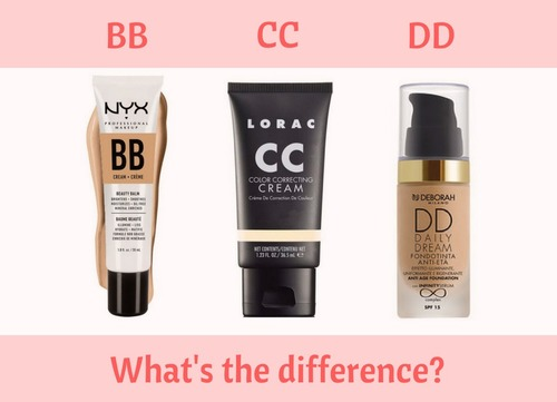 What's The Difference Between BB, CC And DD Creams?