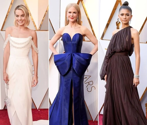 Best Dressed Celebrities From The Oscars 2018 Red Carpet!