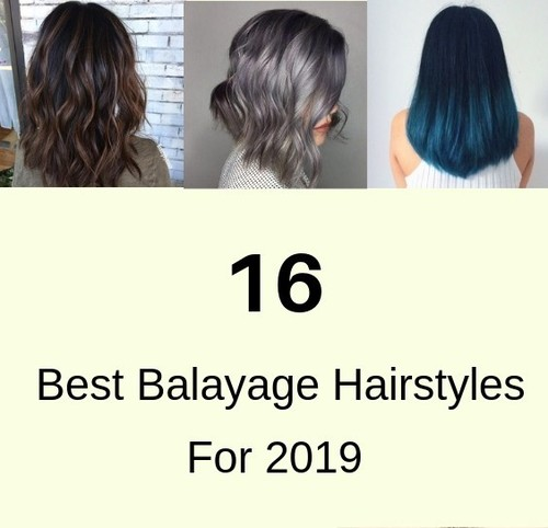 Best Balayage Hairstyles For Black And Brown Hair