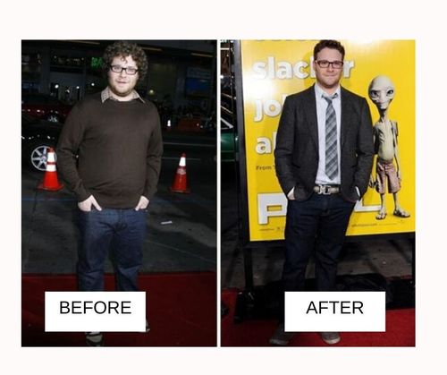 seth rogen weight loss