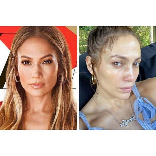 Celebrities Without Makeup Photos
