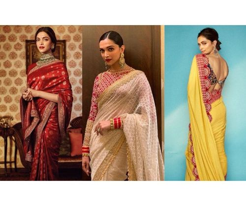 18 Most Popular Deepika Padukone Sarees - 2020