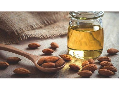 almond oil for hair and skin
