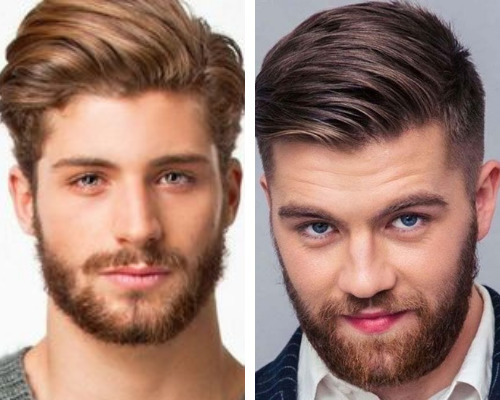 Mens Hairstyles For Round Face