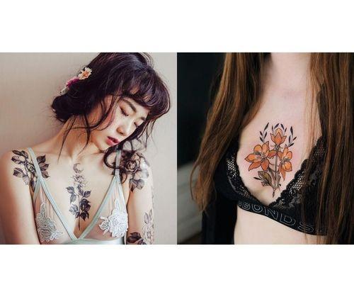 Breast Tattoo Designs