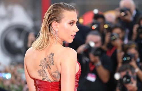 Scarlett Johansson Tattoos
