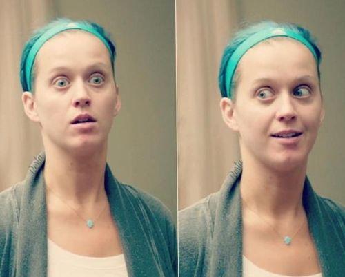 6 Katy Perry No makeup