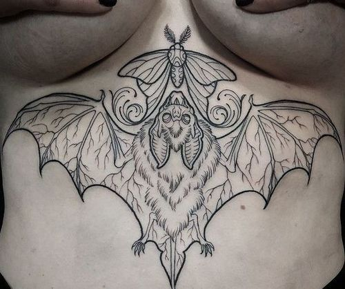 39_Under_Boob_Tattoo_Designs