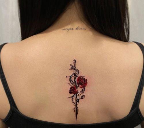 21_Back_Tattoos_for_Girls