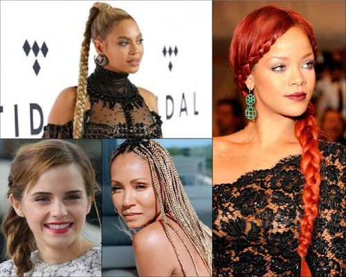 Beyoncé, Emma Watson, Jade Pinkett Smith and Rihanna Braid Hairstyle-05-05