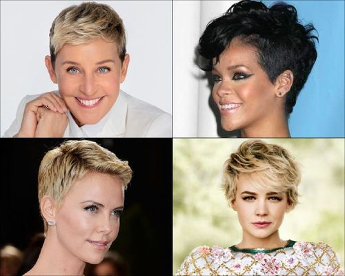 Ellen DeGeneres, Rihana, Charlize Theron and Carey Mulligan Pixie Cut-21