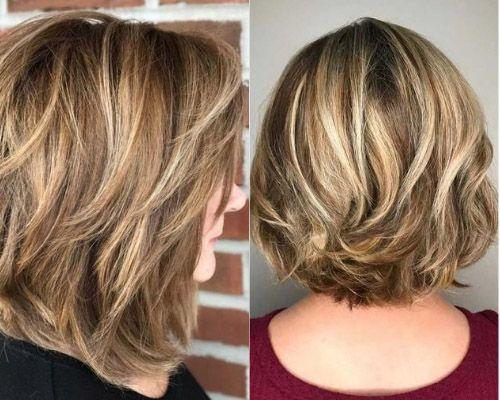 Short lengh layered hair