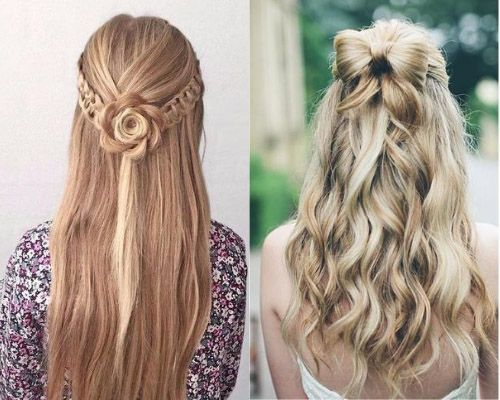 Flowers or bow styles