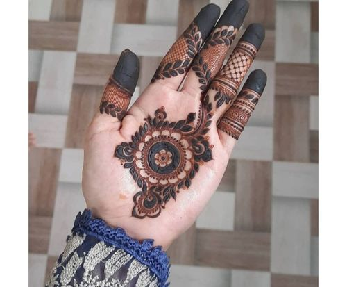 14_Best_Floral_Mehndi_Designs