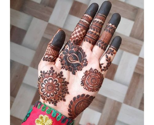 20_Best_Floral_Mehndi_Designs