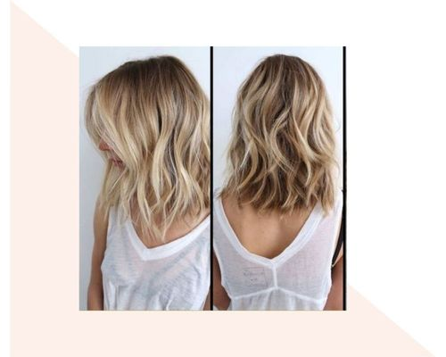 Long Wavy Brown to Blonde Ombre