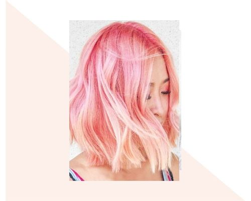 Ringlets of White to Pink