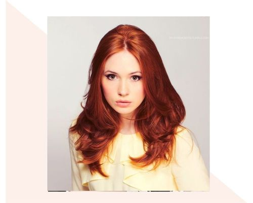 Tousled Brown and Copper Crop