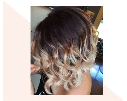 Blonde-Styled Ombre