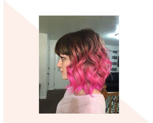 Hot Pink Ombre