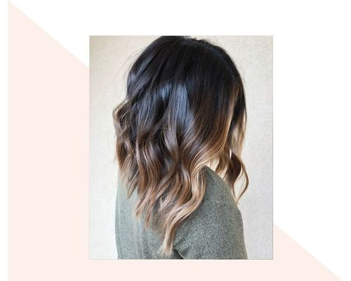 Highlighted Short Ombre