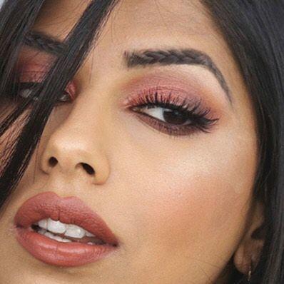 braided eyebrows