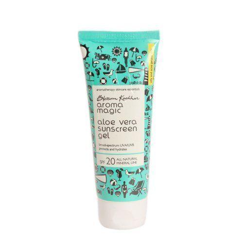 7- Aroma magic aloe vera sun screen gel