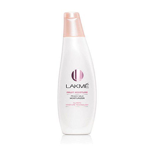 8- Lakme peach milk moisturizer SPF 24 PA sunscreen lotion