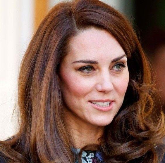 Kate's Crowning Glory Hair