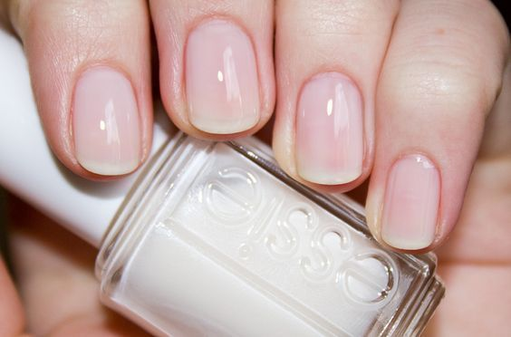 Plain And Glossy Manicure