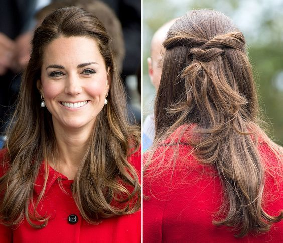 Elegant Hairstyles And Accessories