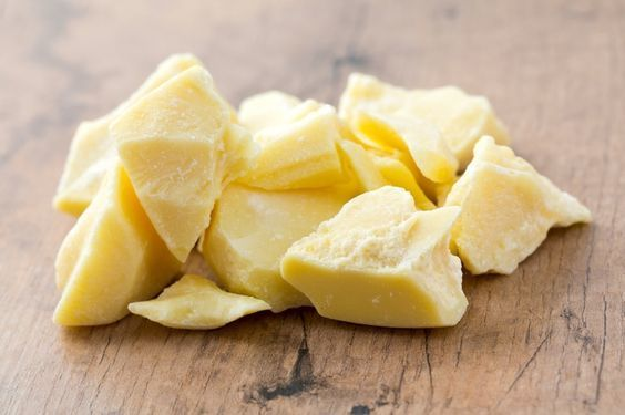 1- Cocoa butter and olive oil for dry skin