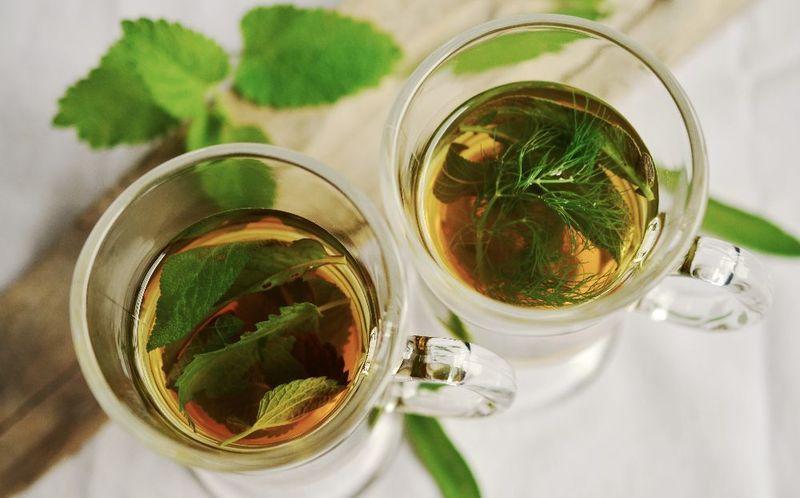 2- Green tea for oily skin