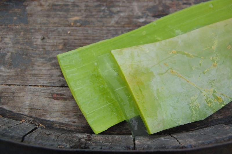 3- Aloe Vera for acne prone skin