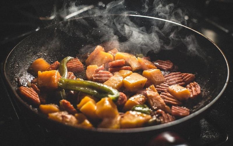 overcook food