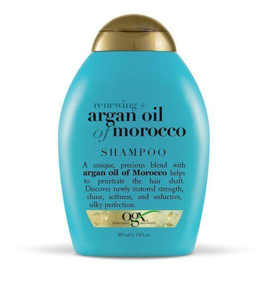 2 Ogx Moroccan argan oil shampoo