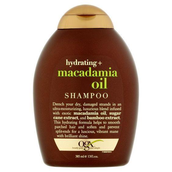 4- Ogx hydrating macadamia oil shampoo