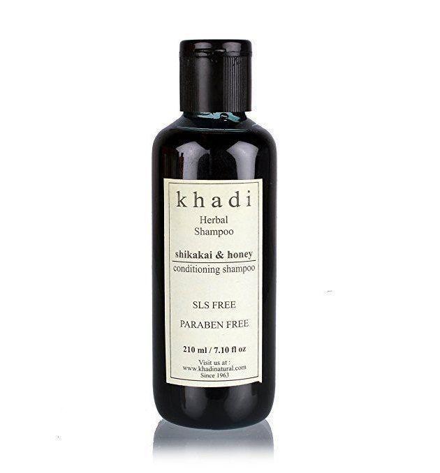 7 Khadi natural herbal shikakai and amla shampoo