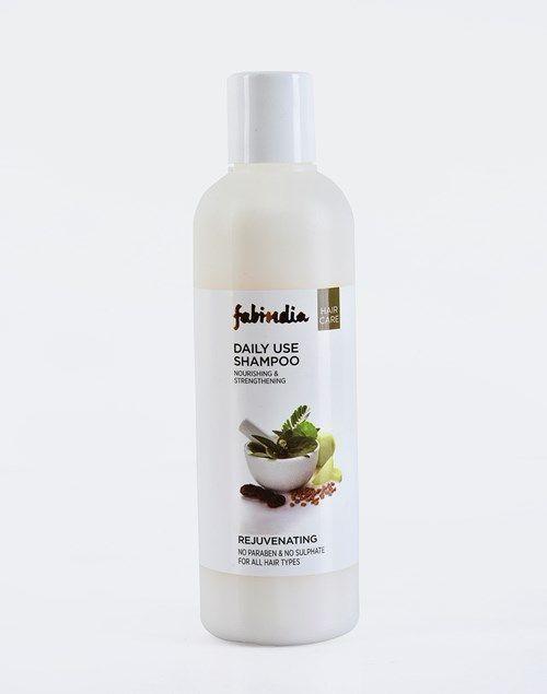 12 fabindia herbal daily use shampoo