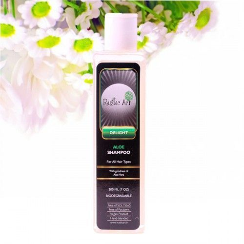 13 Rustic art aloe vera shampoo
