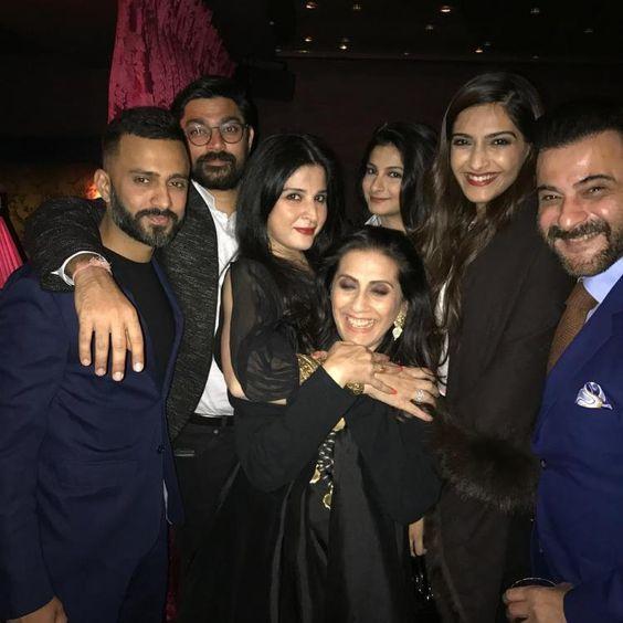 sonmal kapoor family