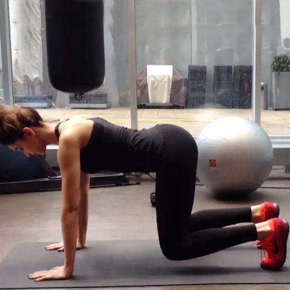 Deepika Padukone's workout regime