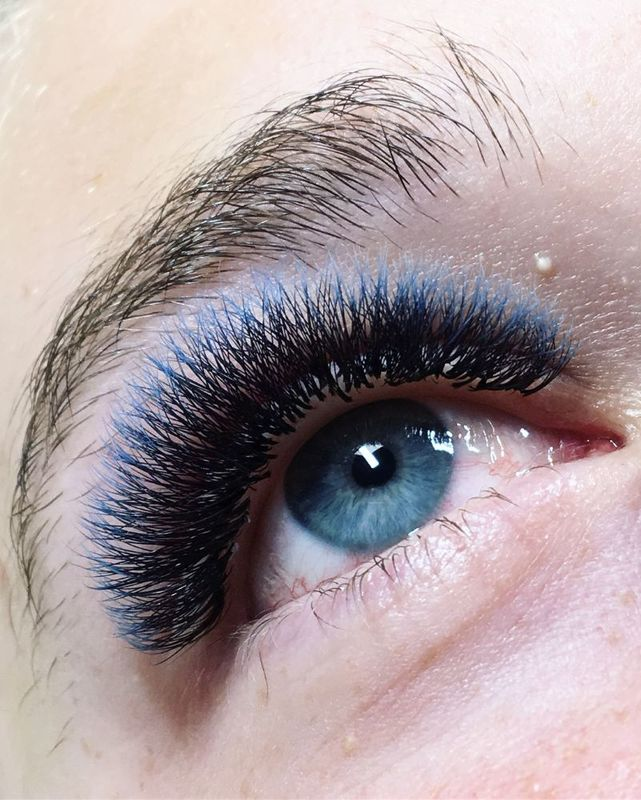 ombre lashes