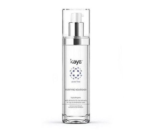 14- Kaya acne-free purifying nourisher