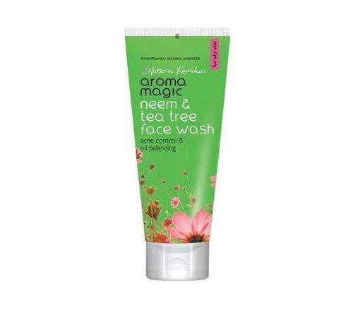 6- Aroma magic neem and tea tree face wash